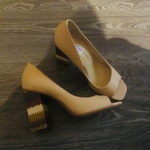 NEW Katy-Perry Peep Toe Heels